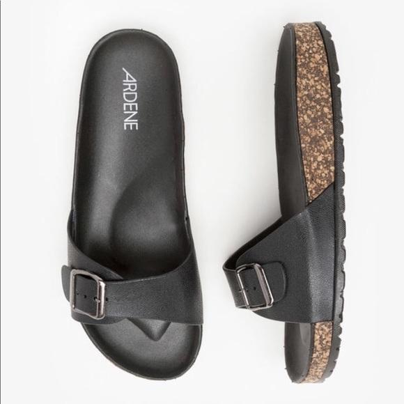 037d05f03 Ardene Shoes - Ardene Cork Slide Sandals